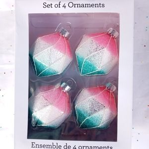 Other - 🎀Holiday Ornament, A Set of Four🎄